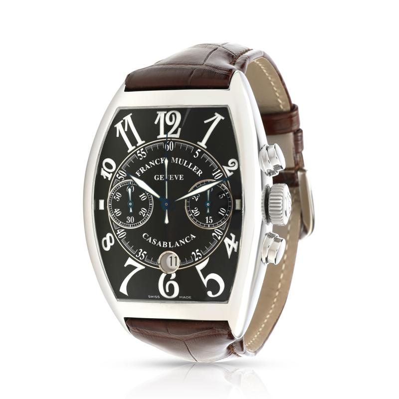 Franck Muller Franck Muller Casablanca 8885 C CC DT Mens Watch in Stainless Steel