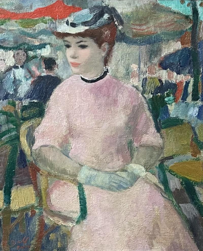 Francois Gall Cafe Scene
