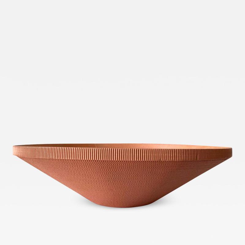 Frank Gehry Postmodern Corrugated Cardboard Bowl or Vessel