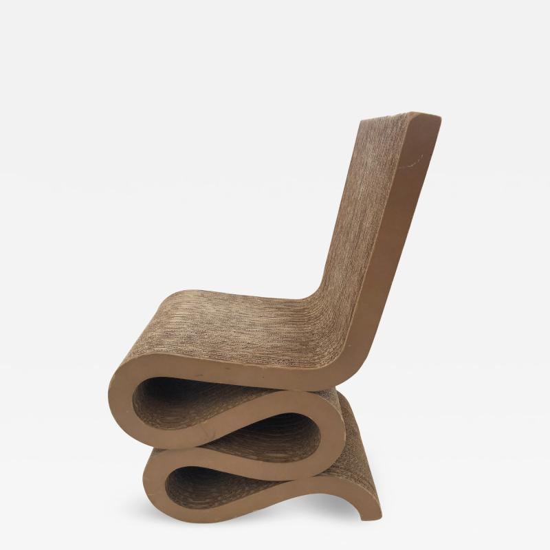 Frank Gehry Wiggle Chair by Frank O Gehry