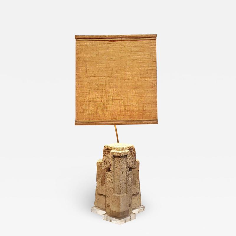Frank Lloyd Wright CUSTOM FRANK LLOYD WRIGHT TABLE LAMP