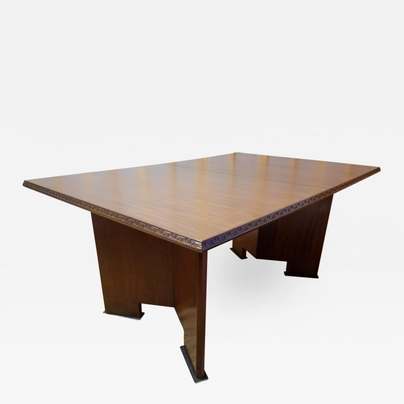 Frank Lloyd Wright Frank Lloyd Wright Extension Mahogany Dining Table Heritage Henredon 1955