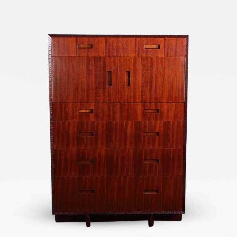 Frank Lloyd Wright Frank Lloyd Wright for Henredon Tall Cabinet