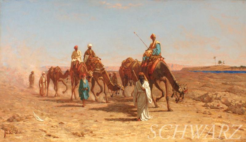 Frank Waller In the Desert