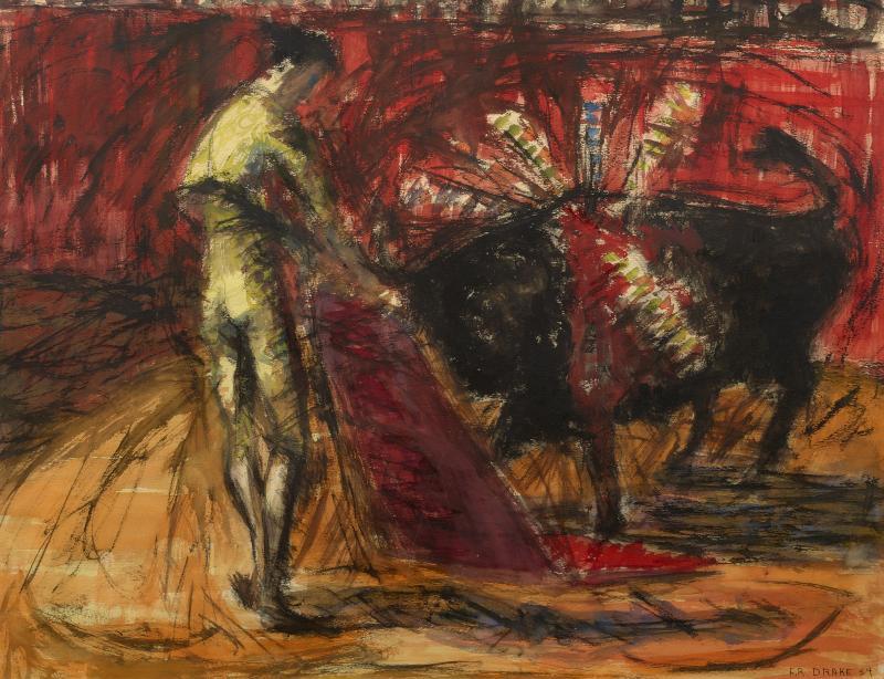 Franklin Drake Bullfight