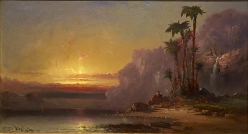 Franklin Dullin Briscoe Palms at Sundown