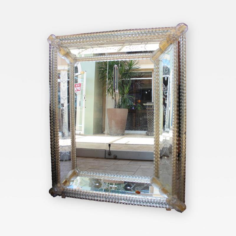 Fratelli Barbini Venetian Mirror by Barbini