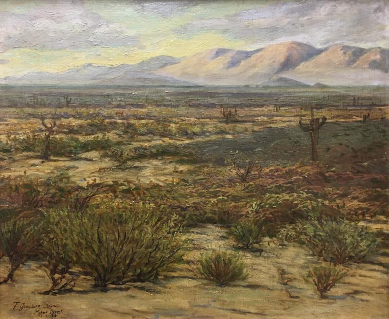 Fred Grayson Sayre Mohave Desert
