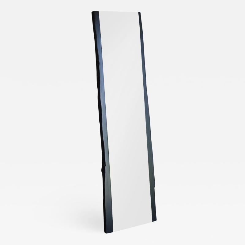 Frederic Saulou Black Slate Mirror Narcisse by Fre de ric Saulou