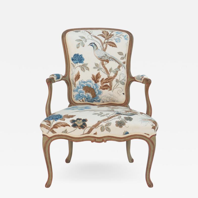 Frederick Victoria Cole Porter Louis XV Style Armchair