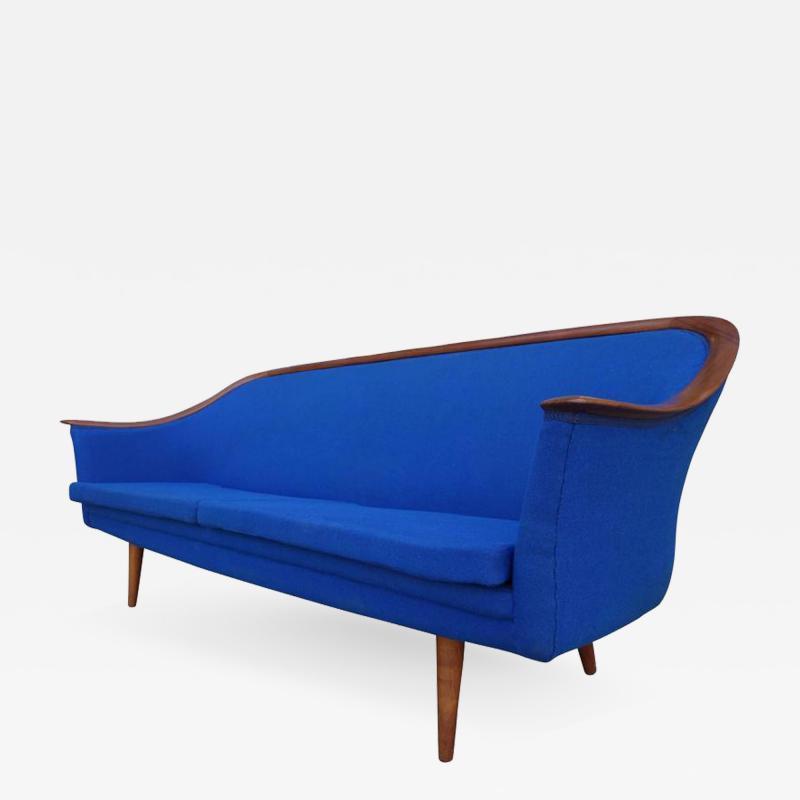 Fredrik Kayser Mid Century Sofa by Fredrik Kayser for Vatne