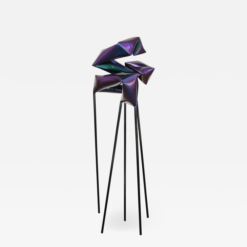 Free Standing floor sculpture by Artist Willi Siber