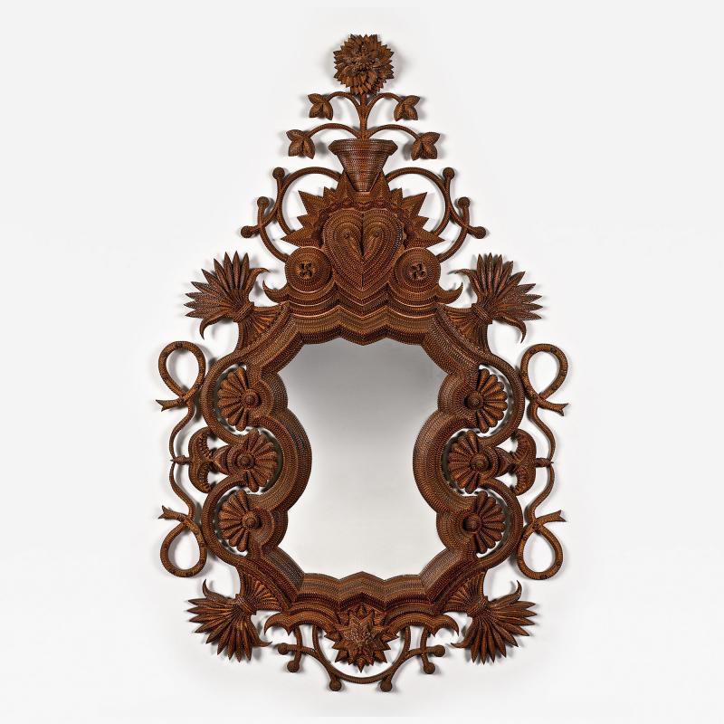 Freeland Tanner Masterfully Made Frame Mirror Harvest Time