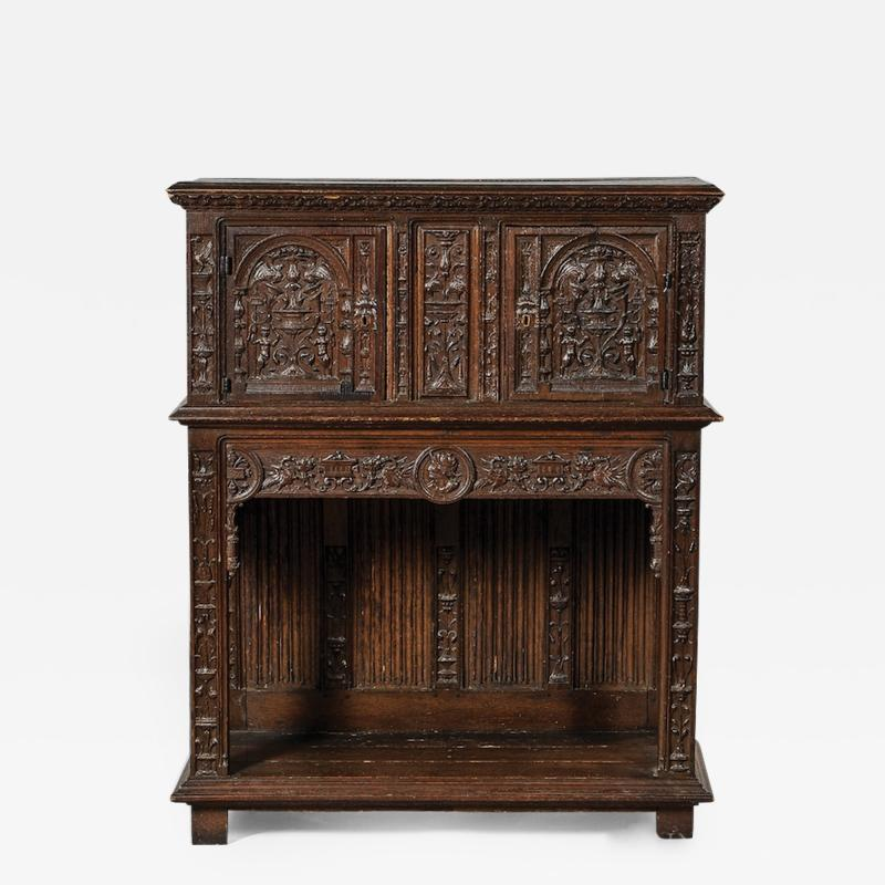 French 16th C Cabinet Museum Provenance