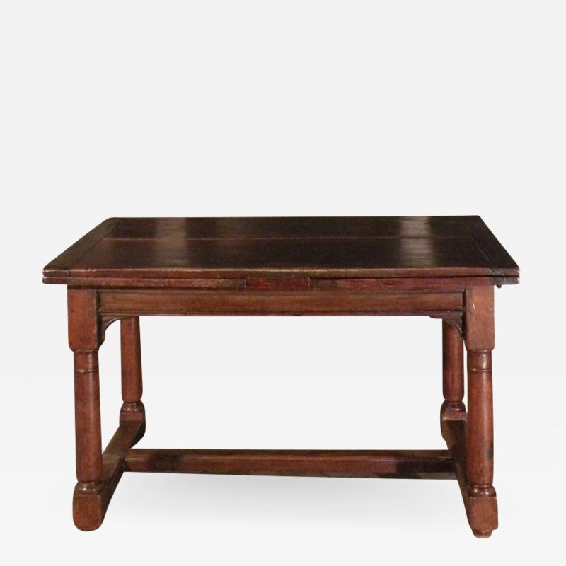 French 16th Century Henry II Walnut Extending Table