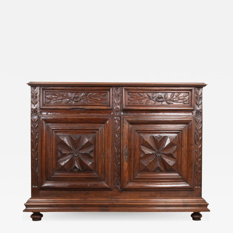French 18th Century Louis XIII Style Walnut Buffet