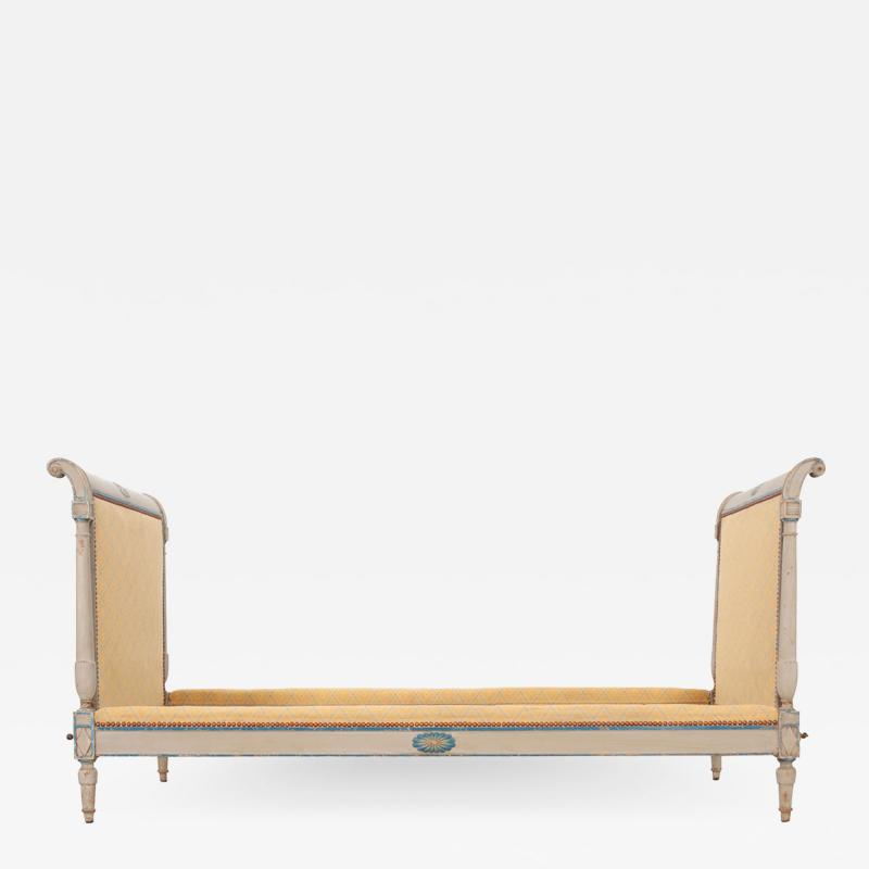 French 19th Century Neoclassical Style Bed