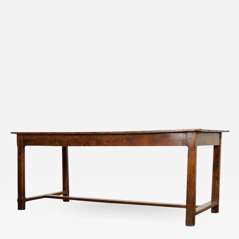 French 19th Century Oak Farmhouse Table