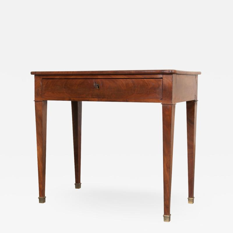 French 19th Century Restauration Writing Table