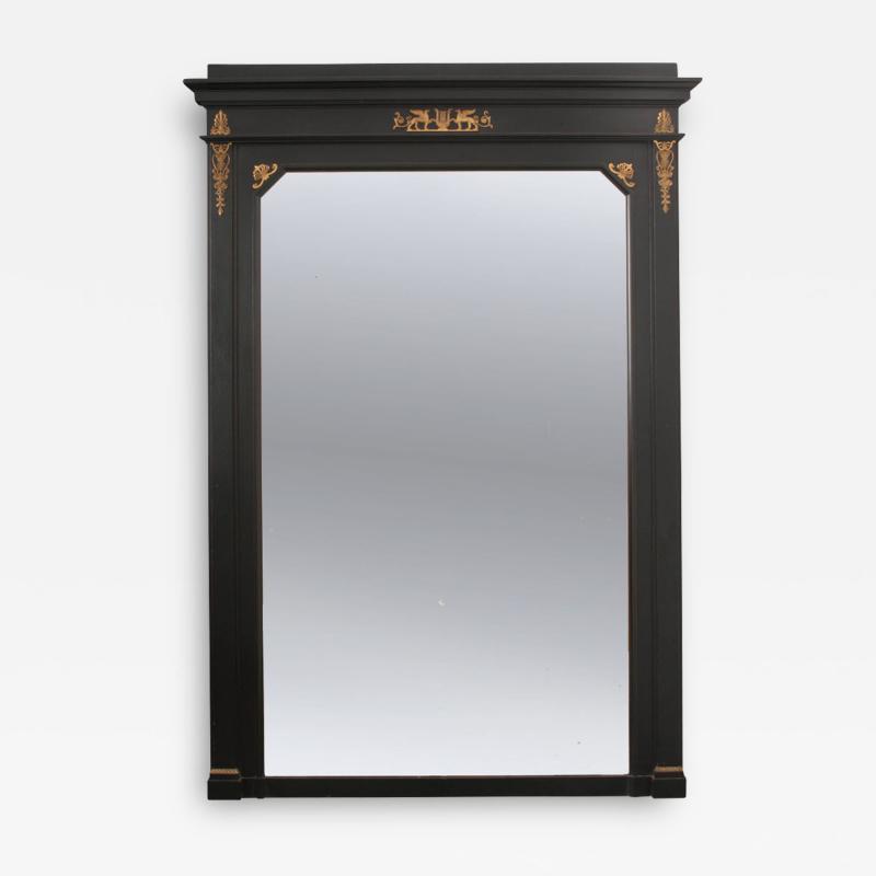 French 19th Century Second Empire Ebonized Mirror