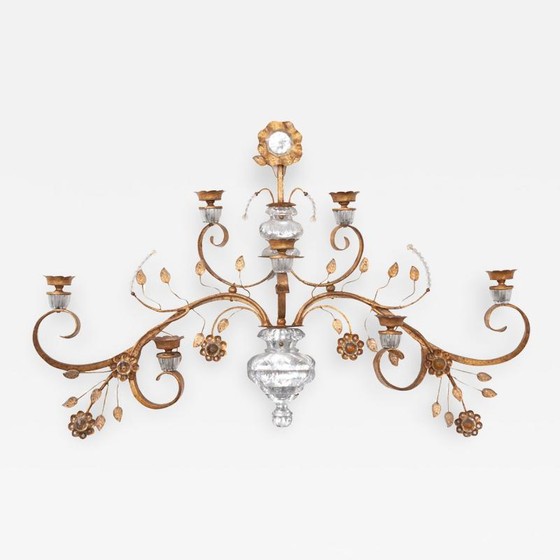 French 20th Century Candle Sconce