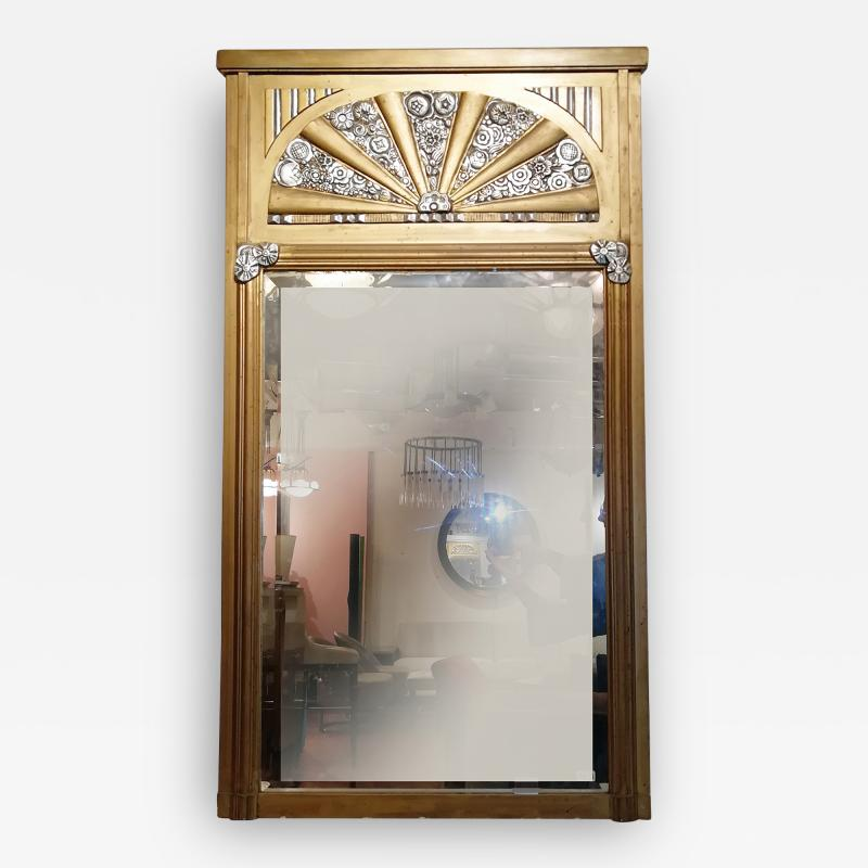 French Art Deco Mirror France circa 1930
