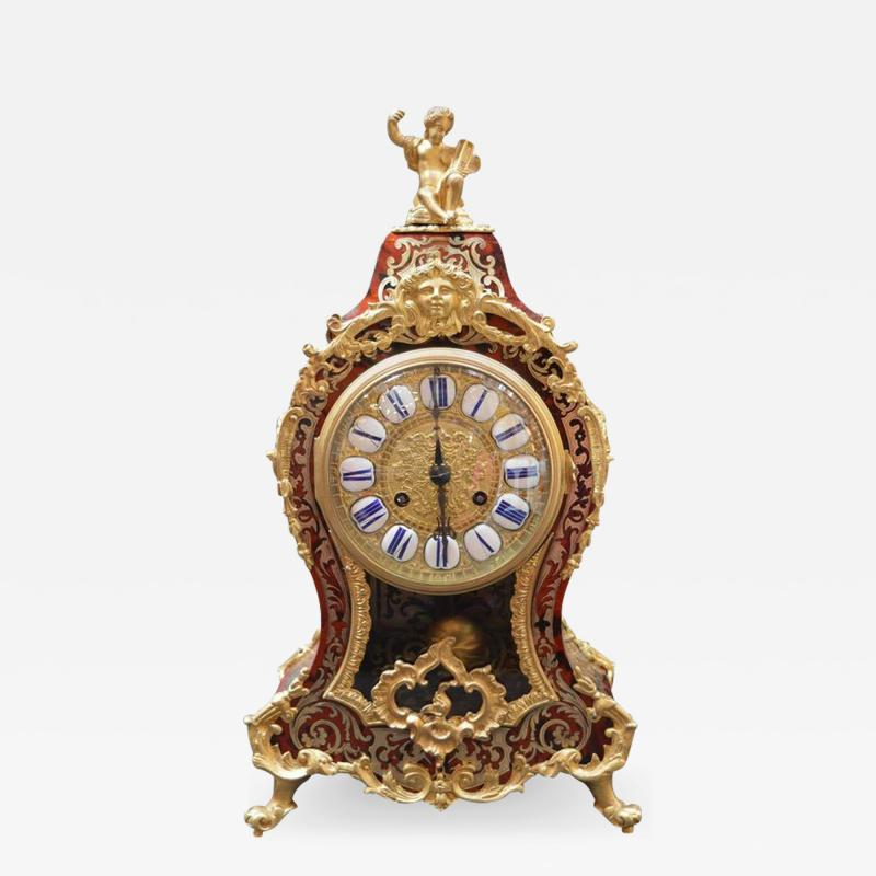 French Boulle Clock