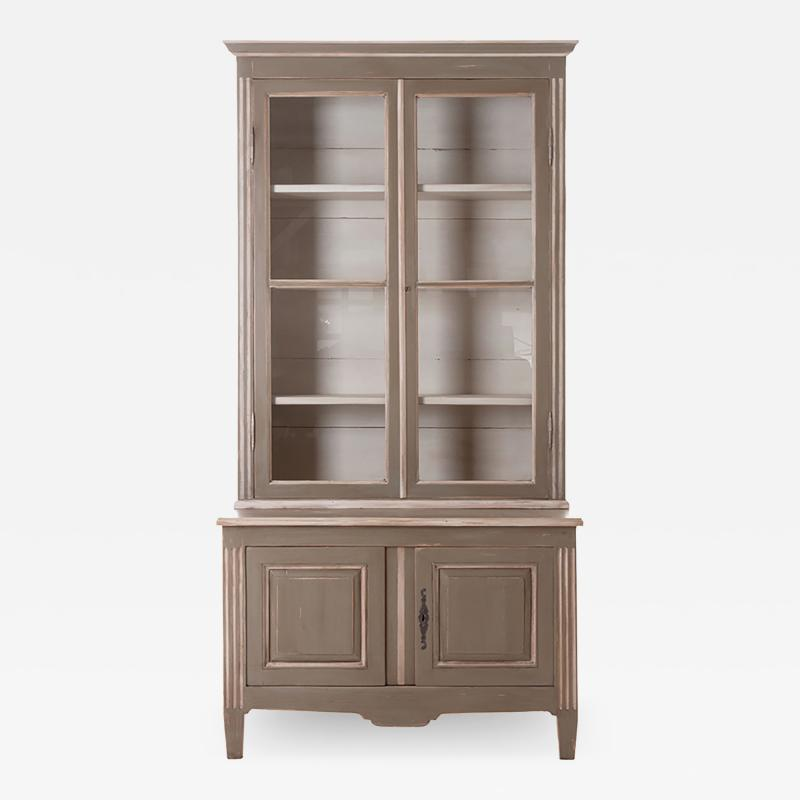 French Buffet Deux Corps Biblioth que In Stock