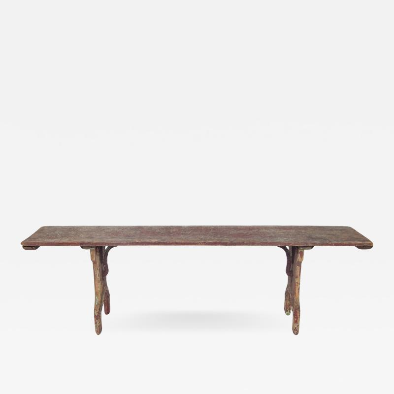 French Folding Bench