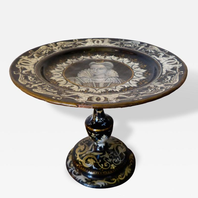French Limoges Tazza