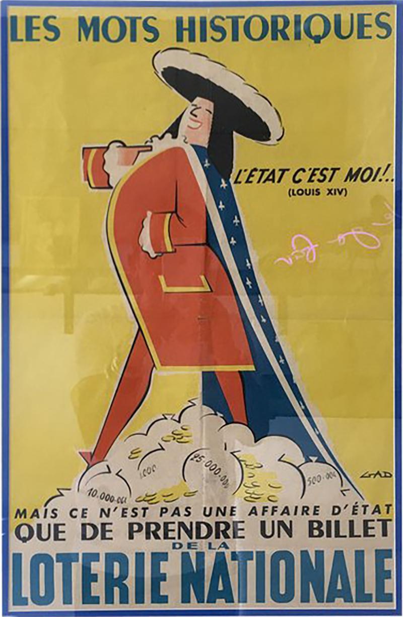 French Louis XIV Poster