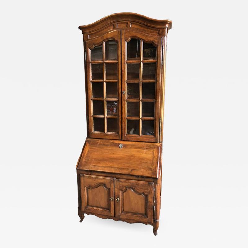 French Louis XV Secretaire Bookcase 1760