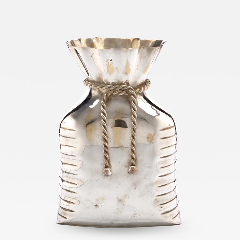 French Money bag Vase