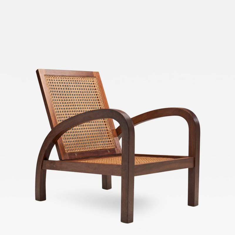 French Teak Armchairs France 1950s