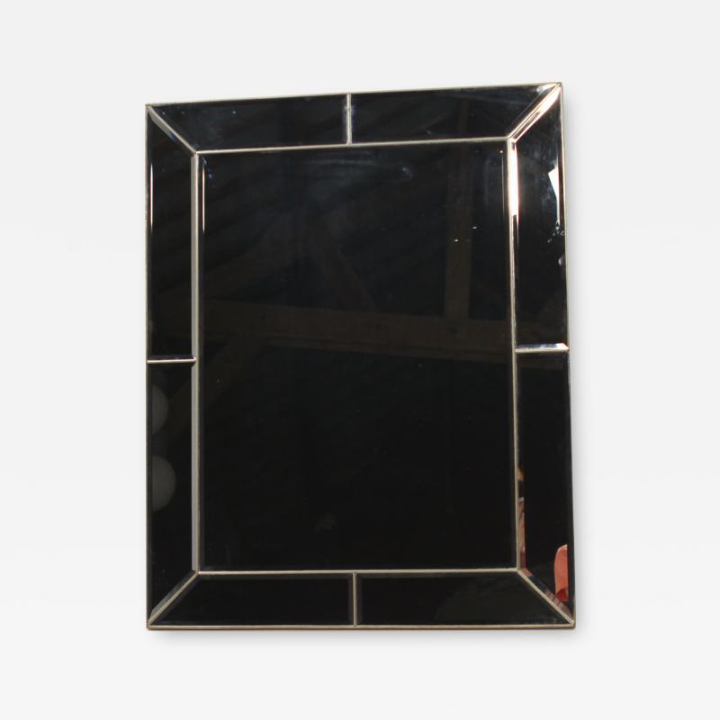 French hollywood Regency brass Mirror venetian style 1970s