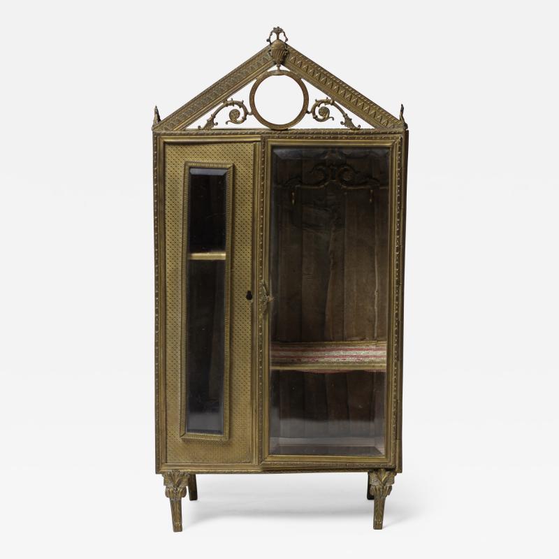 French ormolu jewelry box c 1880 France