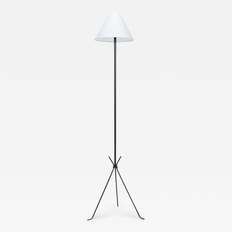 French tripod floor lamp 50s