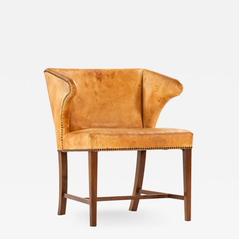 Frits Henningsen Armchairs Produced by Cabinetmaker Frits Henningsen