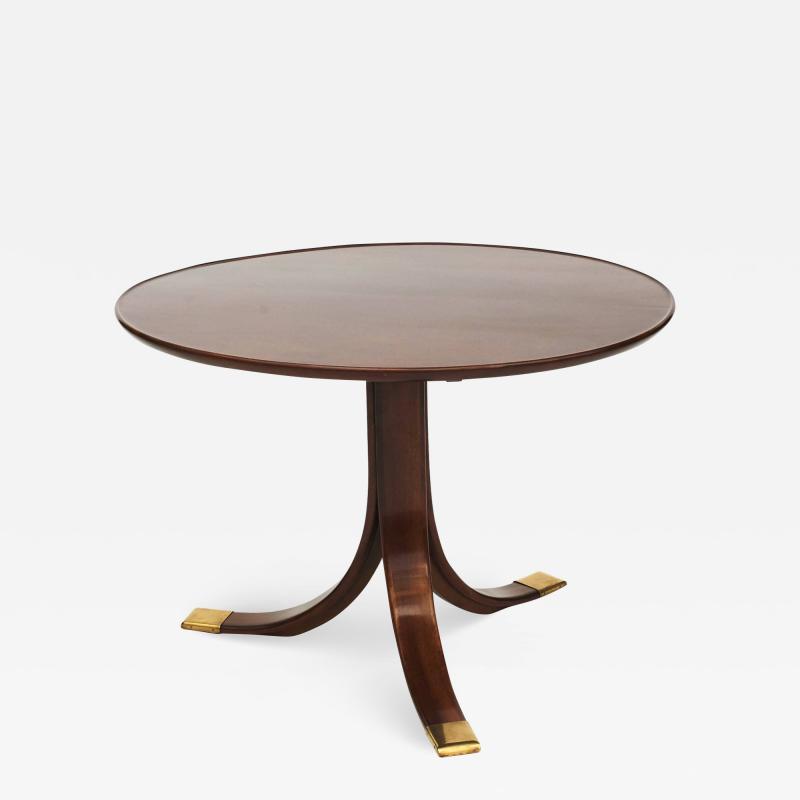 Frits Henningsen CIRCULAR SIDE TABLE BY FRITS HENNINGSEN