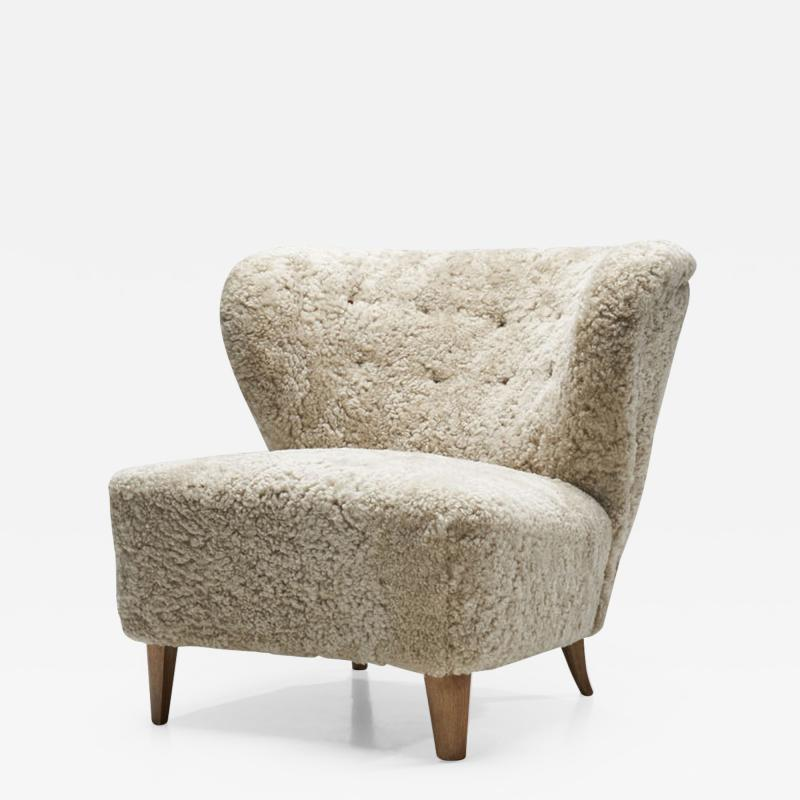 G sta Jonsson G sta Jonsson Lounge Chair from J nk ping Sweden 1940s