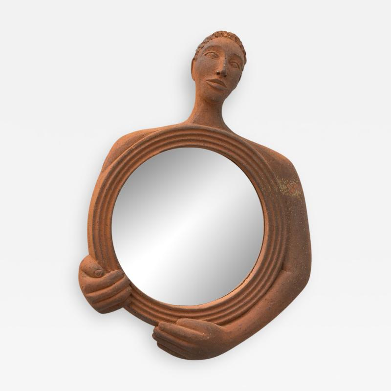 Gabriel Sebastien Simonet Sebastien Terracotta Mirror