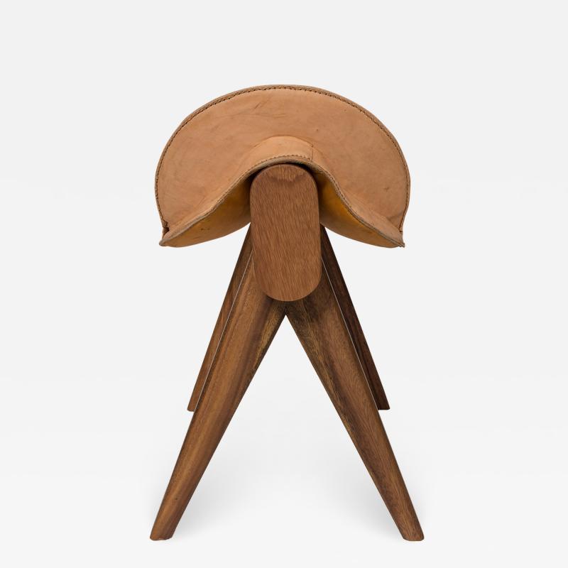 Gabriela Valenzuela Hirsch Montura Saddle Stool by Gabriela Valenzuela Hirsch