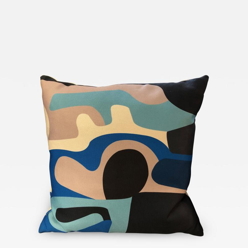 Gabriela Valenzuela Hirsch Silk screened pillows by Gabriela Valenzuela Hirsch