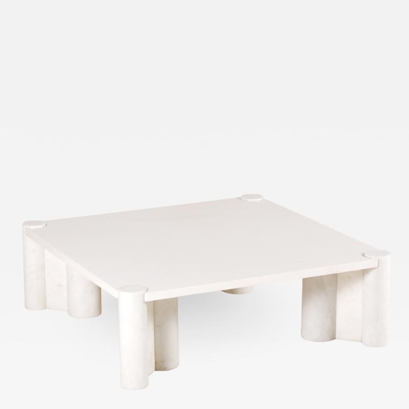 Gae Aulenti Gae Aulenti Jumbo Marble Coffee Table for Knoll 1964