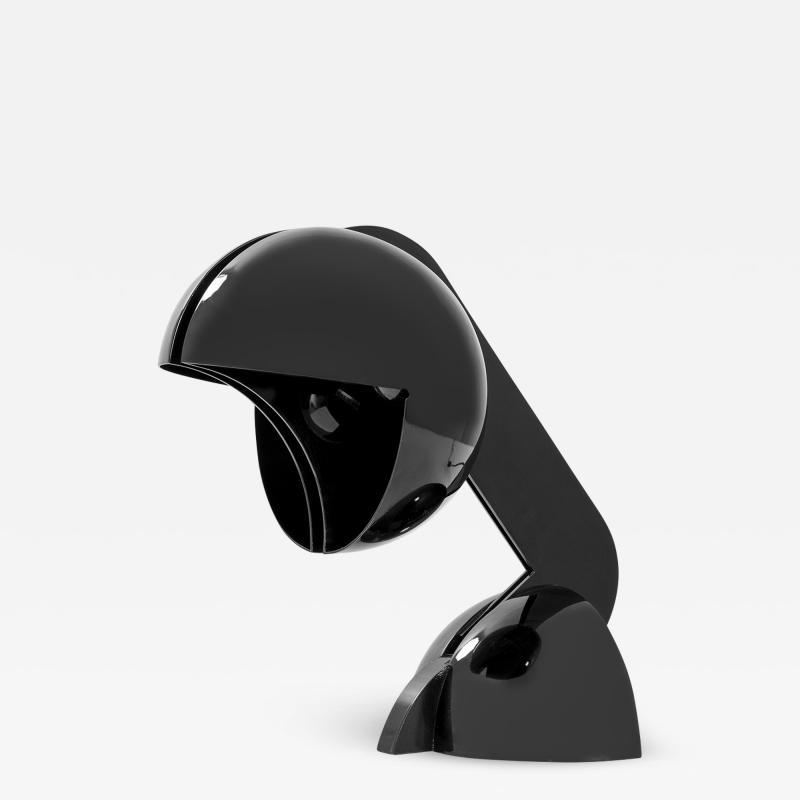 Gae Aulenti Gae Aulenti Table Lamp mod La Ruspa for Martinelli in Aluminium