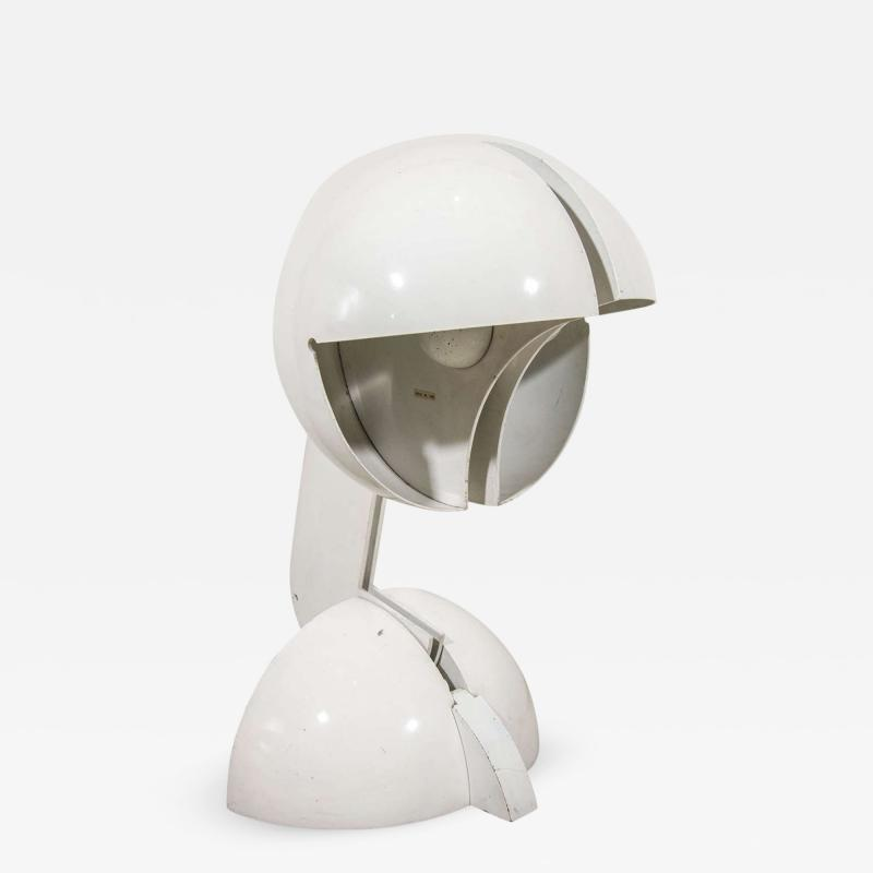 Gae Aulenti La Ruspa Table Lamp by Gae Aulenti manufactured by Martinelli Luce Italy 1968