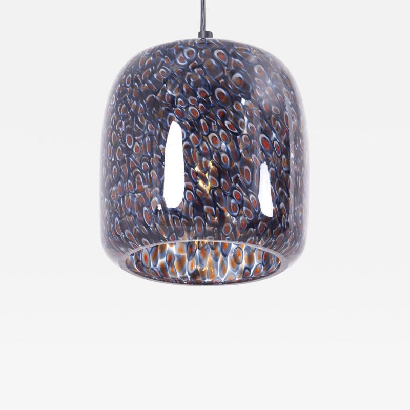 Gae Aulenti Neverrino Glass Pendant Lamp by Gae Aulenti for Vistosi Italy 1970s