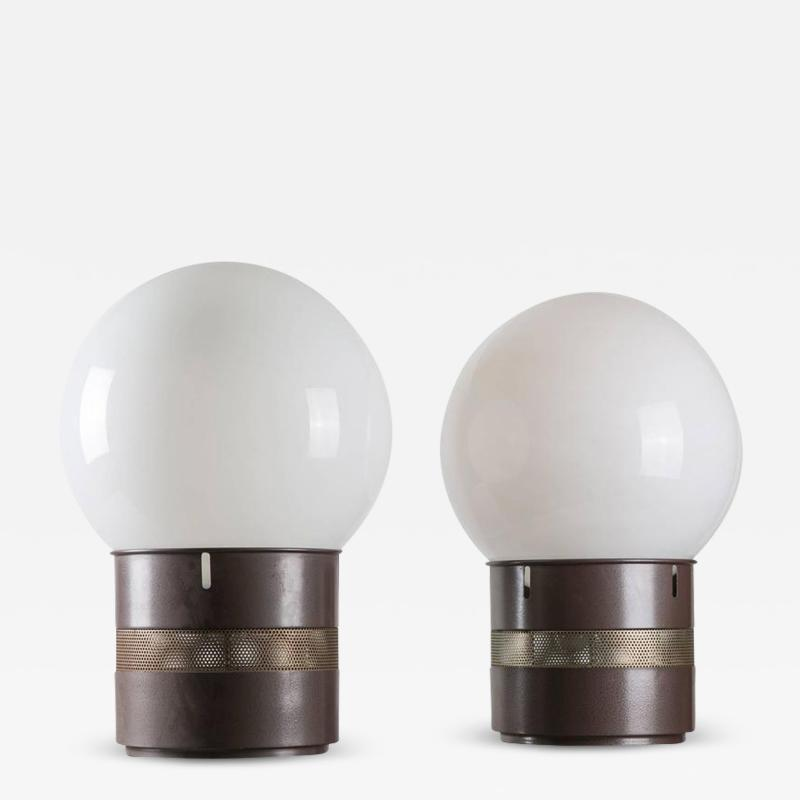 Gae Aulenti Pair of Mezzo Oracolo Table Lamps by Gae Aulenti for Artemide