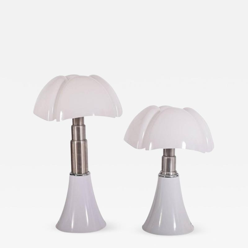 Gae Aulenti Pipistrello Table Lamps by Gae Aulenti for Martinelli Luce