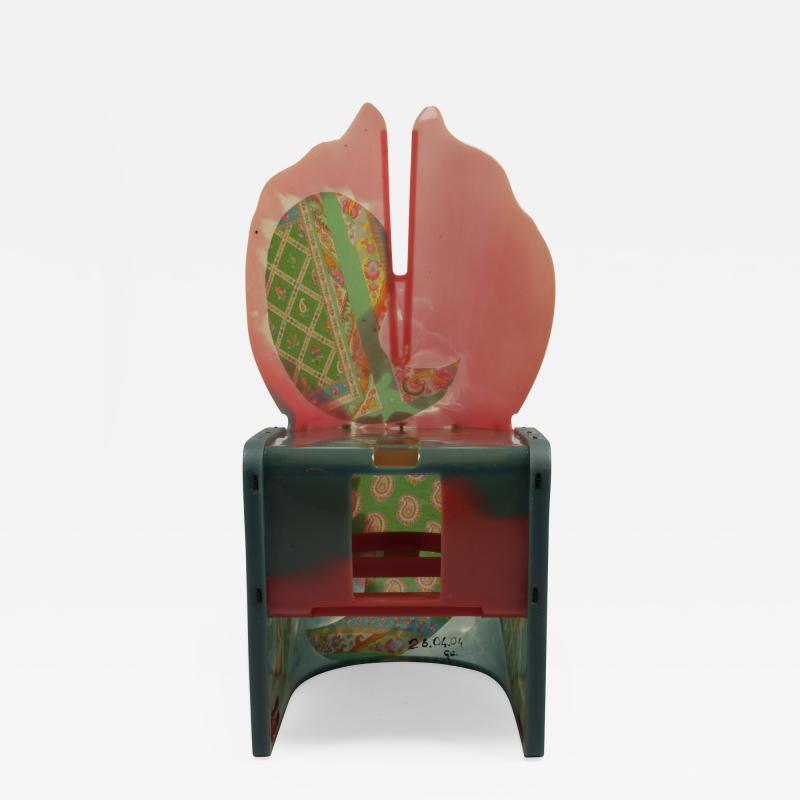 Gaetano Pesce Gaetano Pesce Nobodys Perfect Chair with Etro Fabric 91 99